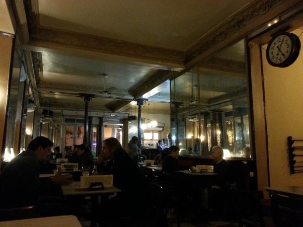 Interior del Café