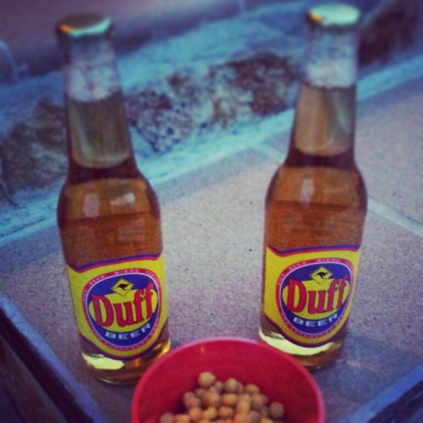 Cervezas Duff