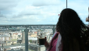 La Glotona en el Gravity Bar