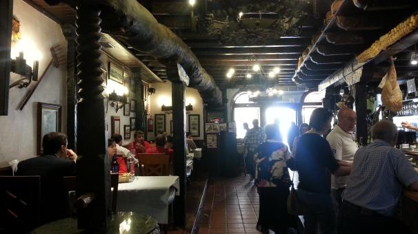Interior El Lagar de Isilla
