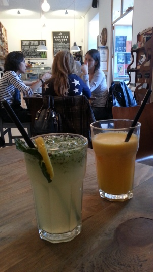 Limonada y zumo de Martina Cocina
