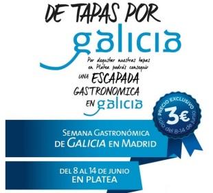 Semana Gastronómica de Galicia en Madrid